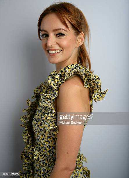 Actress Ahna O'Reilly poses for a portrait at the Variety Studio at Chivas House on May 20 2013 in Cannes France
