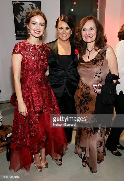 Actress Ahna O'Reilly, The Art of Elysium founder Jennifer Howell and actress Beth Grant attend the Art Of Elysium PARADIS during the 66th Annual...