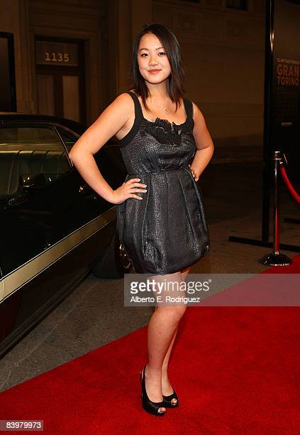 Actress Ahney Her arrives at the world premiere of Warner Bros Pictures' Gran Torino held at the Warner Bros' Steven Ross theater on December 9 2008...