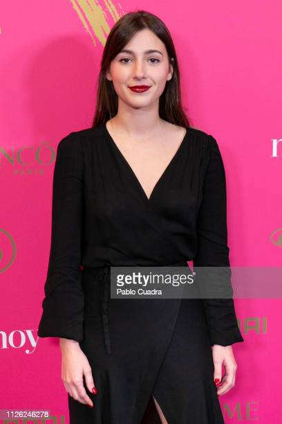 Actress Aia Kruse attends the 10th 'MujerHoy' awards at 'Casino de Madrid' on January 30 2019 in Madrid Spain