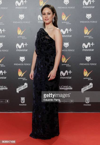 Actress Aida Folch attends Feroz Awards 2018 at Magarinos Complex on January 22 2018 in Madrid Spain