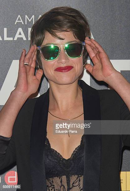 Actress Aida Folch attends the 'Nuestros Amantes' premiere at Palafox cinema on May 30 2016 in Madrid Spain