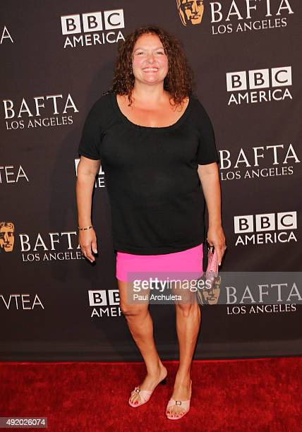 Actress Aida Turturro attends the BAFTA Los Angeles TV Tea 2015 at SLS Hotel on September 19 2015 in Beverly Hills California
