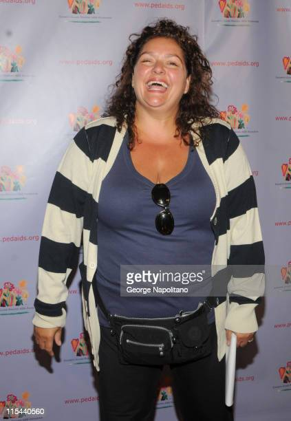 Actress Aida Turturro attends the 'Kids for Kids' celebrity carnival at the Park Avenue Armory on September 20 2008 in New York City