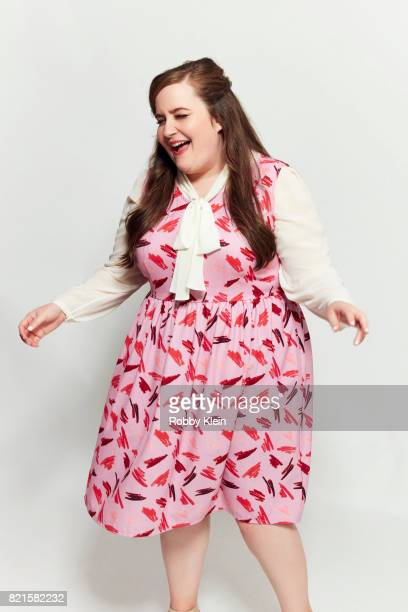 Actress Aidy Bryant from Amazon's 'Danger Eggs' poses for a portrait during ComicCon 2017 at Hard Rock Hotel San Diego on July 22 2017 in San Diego...