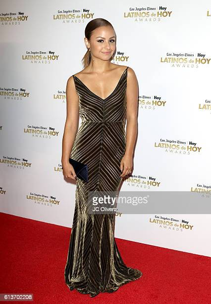 Actress Aimee Carrero attends the 2016 Latinos de Hoy Awards at Dolby Theatre on October 9 2016 in Hollywood California