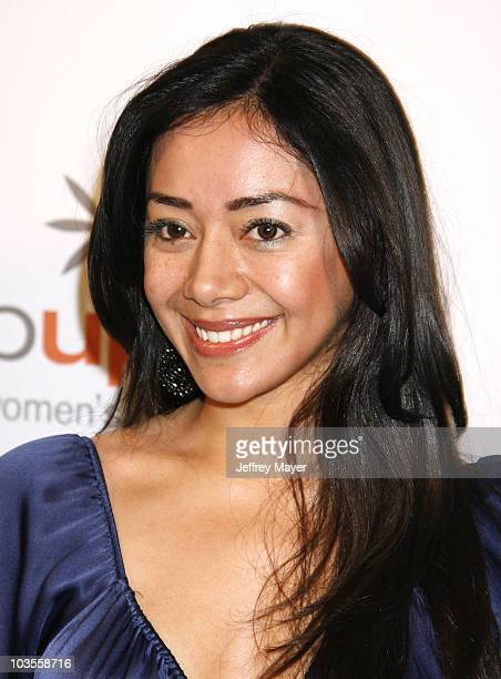 Actress Aimee Garcia arrives at Step Up Women's Network - 2008 Inspiration Awards Luncheon on May 9, 2008 at the Beverly Wilshire Hotel in Beverly...