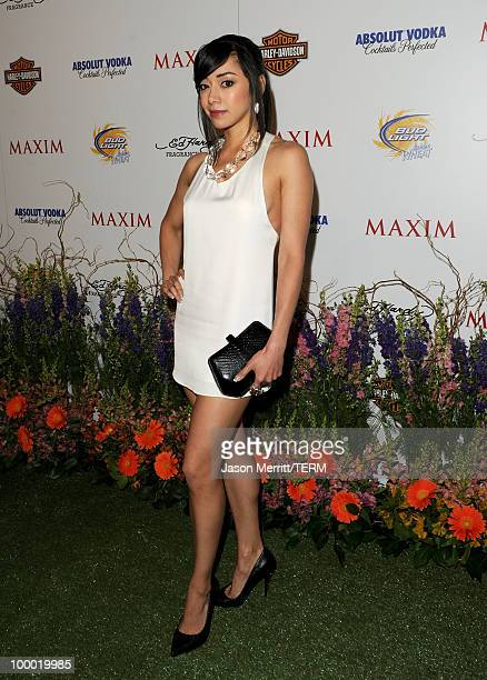 Actress Aimee Garcia arrives at the 11th annual Maxim Hot 100 Party with HarleyDavidson ABSOLUT VODKA Ed Hardy Fragrances and ROGAINE held at...