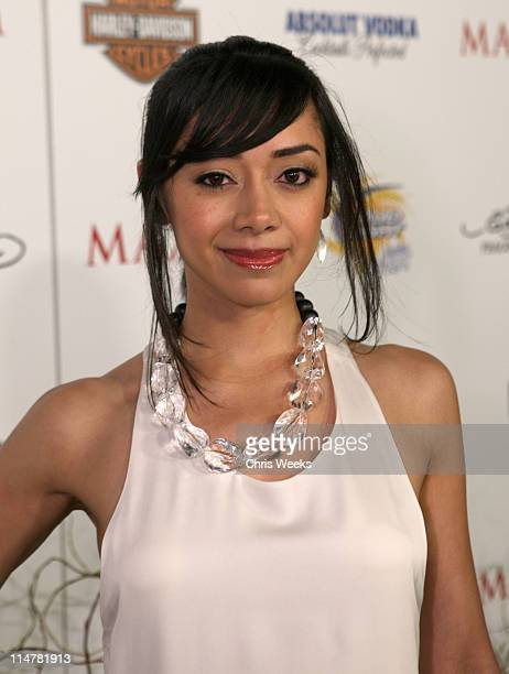 Actress Aimee Garcia arrives at the 11th annual Maxim Hot 100 Party with Harley-Davidson, ABSOLUT VODKA, Ed Hardy Fragrances, and ROGAINE held at...
