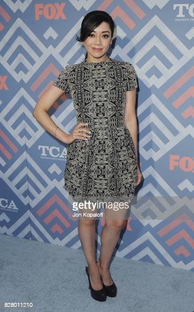 Actress Aimee Garcia arrives at the 2017 Fox Summer TCA Tour at the Soho House on August 8 2017 in West Hollywood California