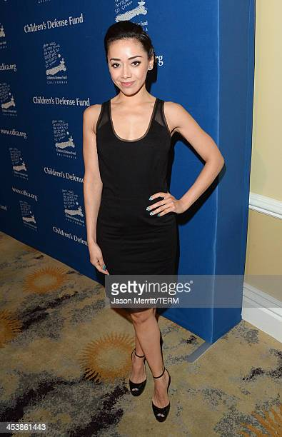 Actress Aimee Garcia attends 23rd Annual Beat The Odds Awards hosted by Children's Defense FundCalifornia on December 5 2013 in Beverly Hills...