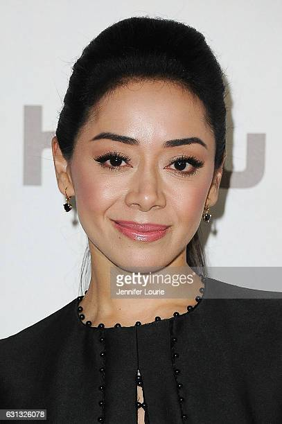 Actress Aimee Garcia attends FOX and FX's 2017 Golden Globe Awards after party at The Beverly Hilton Hotel on January 8 2017 in Beverly Hills...