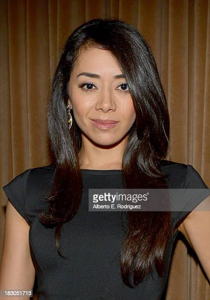 Actress Aimee Garcia attends Latina Magazine's Hollywood Hot List party at The Redbury Hotel on October 3 2013 in Hollywood California