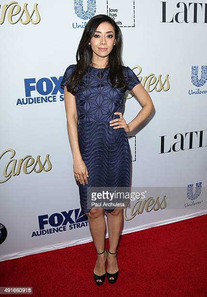 Actress Aimee Garcia attends Latina Magazine's 'Hot List' party at The London West Hollywood on October 6 2015 in West Hollywood California
