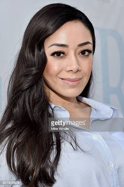 Actress Aimee Garcia attends the 9th Annual George Lopez Celebrity Golf Classic to benefit The George Lopez Foundation at Lakeside Golf Club on May 2...