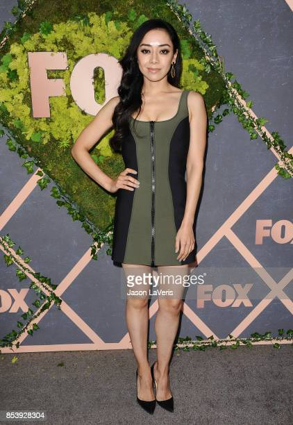 Actress Aimee Garcia attends the FOX Fall Party at Catch LA on September 25 2017 in West Hollywood California