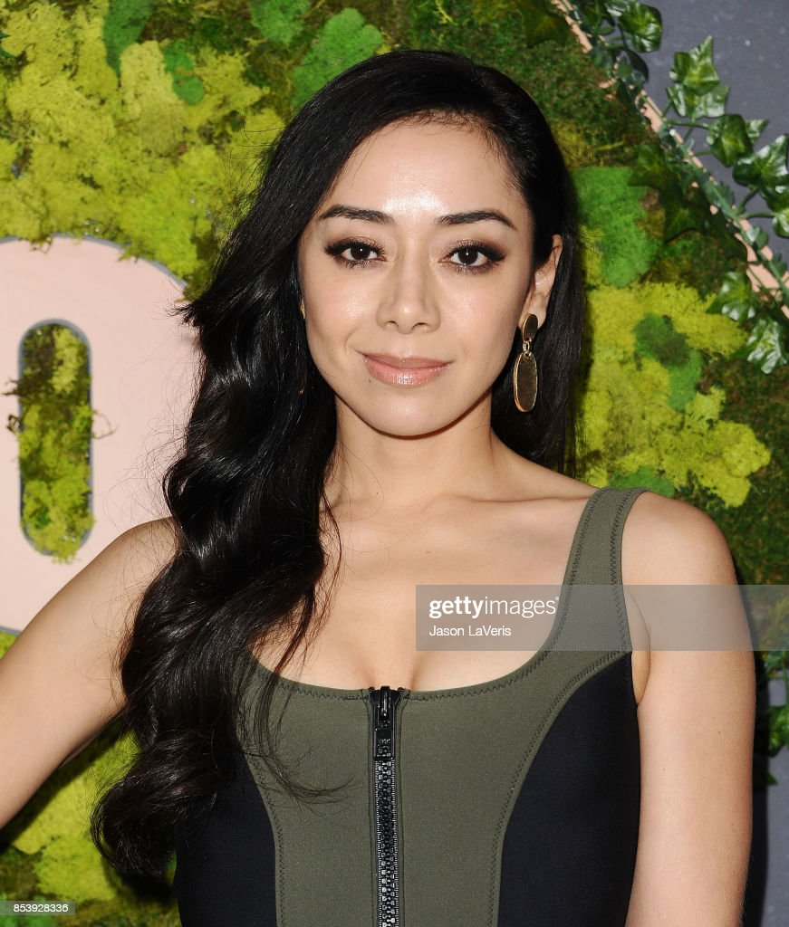 Actress Aimee Garcia attends the FOX Fall Party at Catch LA on September 25, 2017 in West Hollywood, California.