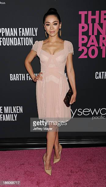 Actress Aimee Garcia attends The Pink Party 2013 at Barker Hangar on October 19 2013 in Santa Monica California