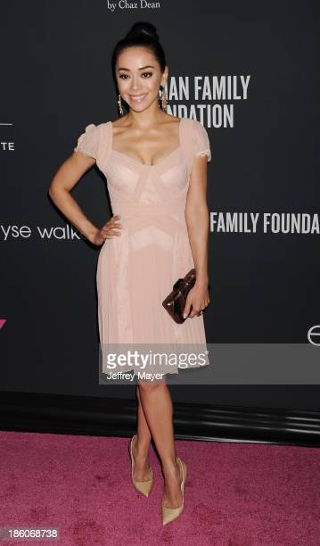 Actress Aimee Garcia attends The Pink Party 2013 at Barker Hangar on October 19, 2013 in Santa Monica, California.