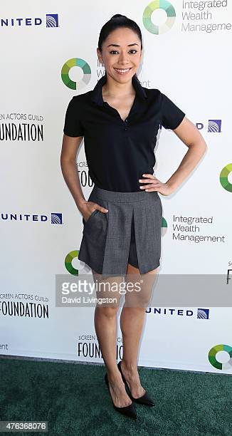 Actress Aimee Garcia attends the SAG Foundation's 6th Annual Los Angeles Golf Classic on June 8 2015 in Burbank California