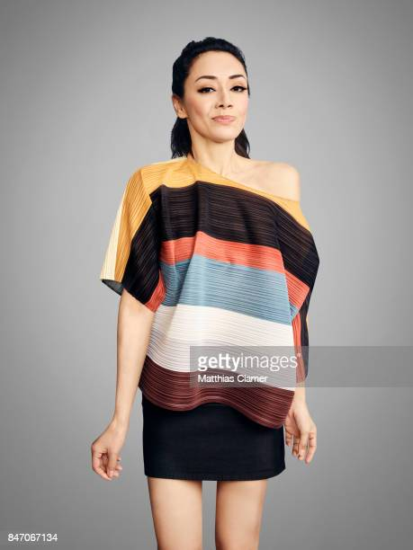 Actress Aimee Garcia from 'Lucifer' is photographed for Entertainment Weekly Magazine on July 23 2016 at Comic Con in the Hard Rock Hotel in San...