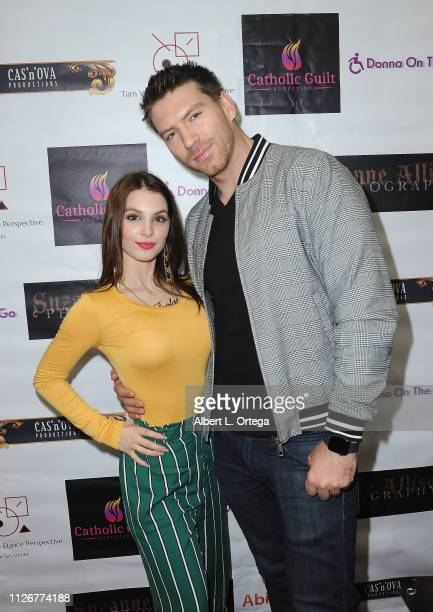 Actress Ainsley Ross and actor Jesse Kove at the Season 3 promotion of 'Donna On The Go' and the opening of the official Donna On The Go store at The...