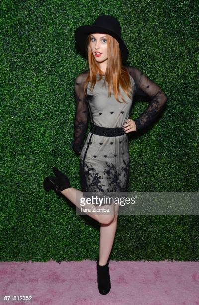 Actress Ainsley Ross attends Stylecon OC at OC Fair and Event Center on November 4 2017 in Costa Mesa California