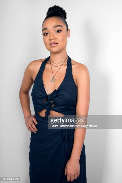 Actress Aisha Dee photographed for NY Daily News on July 18 in New York City