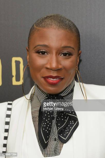 """Actress Aisha Hinds attends a For Your Consideration event for WGN America's """"Underground"""" at The Landmark on May 2, 2017 in Los Angeles, California."""
