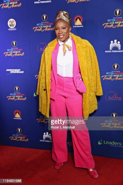 Actress Aisha Hinds attends the 5th Annual Truth Awards at Taglyan Cultural Complex on March 09 2019 in Hollywood California