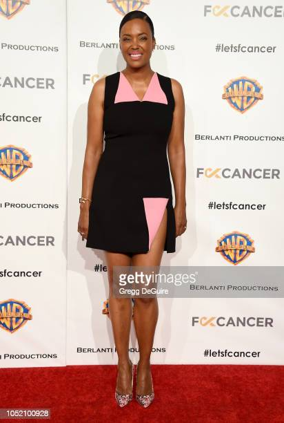 Actress Aisha Tyler arrives at FCancer's 1st Annual Barbara Berlanti Heroes Gala at Warner Bros Studios on October 13 2018 in Burbank California