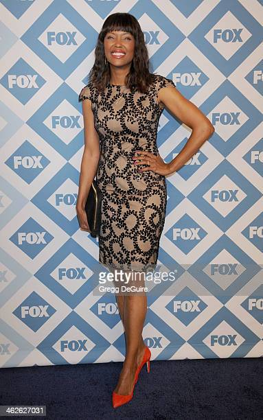 Actress Aisha Tyler arrives at the 2014 TCA winter press tour FOX allstar party at The Langham Huntington Hotel and Spa on January 13 2014 in...