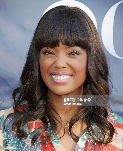 Actress Aisha Tyler arrives at the 2014 Television Critics Association Summer Press Tour CBS CW And Showtime Party at Pacific Design Center on July...