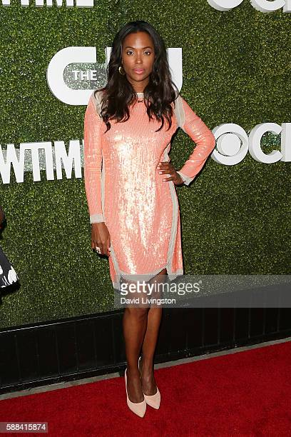 Actress Aisha Tyler arrives at the CBS CW Showtime Summer TCA Party at the Pacific Design Center on August 10 2016 in West Hollywood California