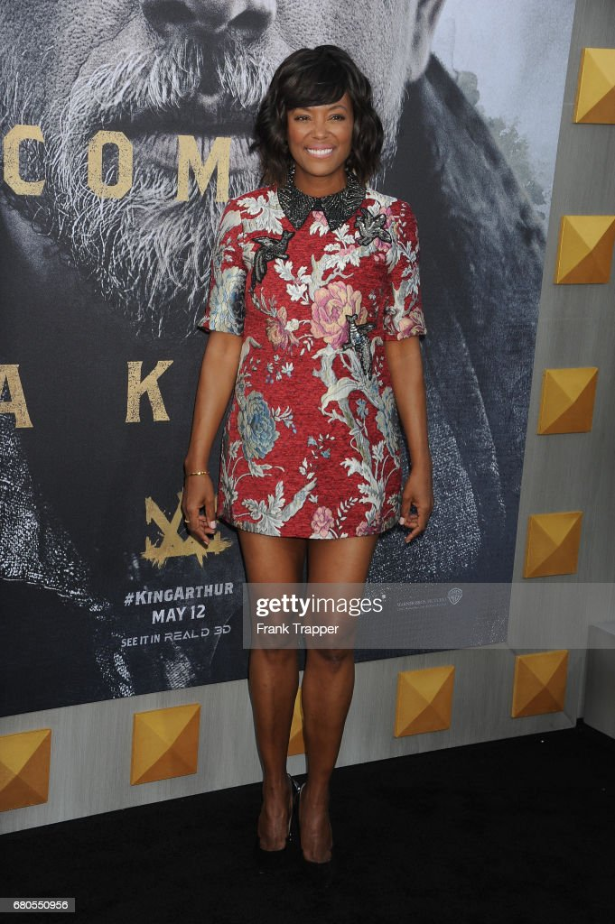 Actress Aisha Tyler arrives at the premiere of Warner Bros. Pictures' 'King Arthur: Legend Of The Sword' at TCL Chinese Theatre on May 8, 2017 in Hollywood, California.
