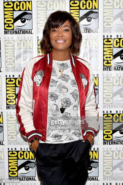 Actress Aisha Tyler at FX's 'Archer' Press Line during ComicCon International 2017 at Hilton Bayfront on July 21 2017 in San Diego California