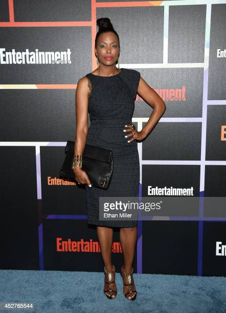 Actress Aisha Tyler attends Entertainment Weekly's annual ComicCon celebration at Float at Hard Rock Hotel San Diego on July 26 2014 in San Diego...