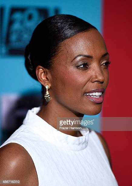 Actress Aisha Tyler attends FX's American Horror Story Freak Show premiere screening at TCL Chinese Theatre on October 5 2014 in Hollywood California
