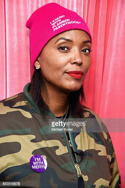 Actress Aisha Tyler attends Park City Live Presents The Hub Featuring The Marie Claire Studio and the 4K ULTRA HD Showcase Brought to You by the...