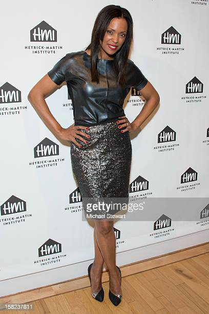 Actress Aisha Tyler attends The 2012 Emery Awards at Altman Building on December 11 2012 in New York City