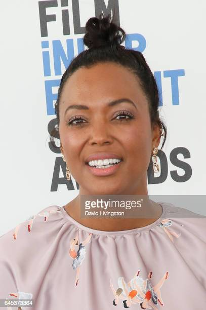 Actress Aisha Tyler attends the 2017 Film Independent Spirit Awards on February 25 2017 in Santa Monica California