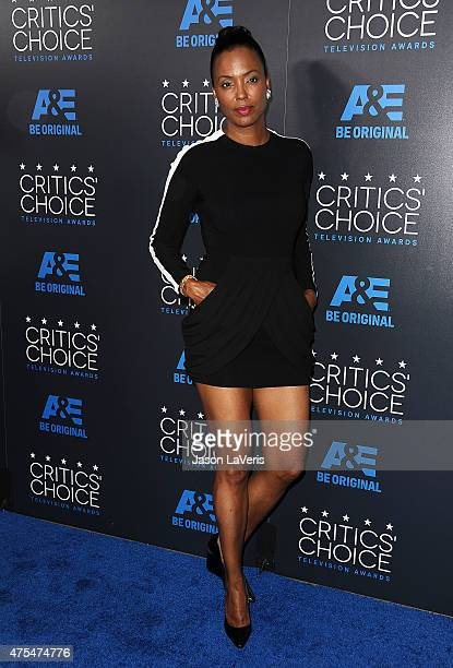 Actress Aisha Tyler attends the 5th annual Critics' Choice Television Awards at The Beverly Hilton Hotel on May 31 2015 in Beverly Hills California