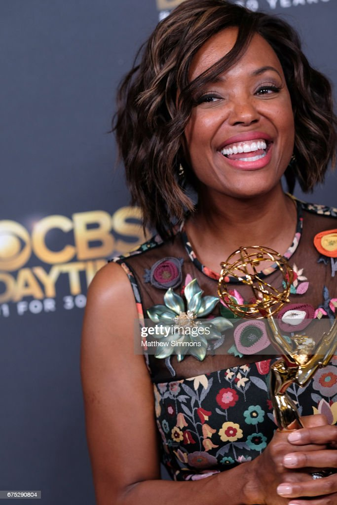 Actress Aisha Tyler attends the CBS Daytime Emmy after party at Pasadena Civic Auditorium on April 30, 2017 in Pasadena, California.