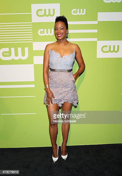 Actress Aisha Tyler attends The CW Network's New York 2015 Upfront Presentation at The London Hotel on May 14 2015 in New York City