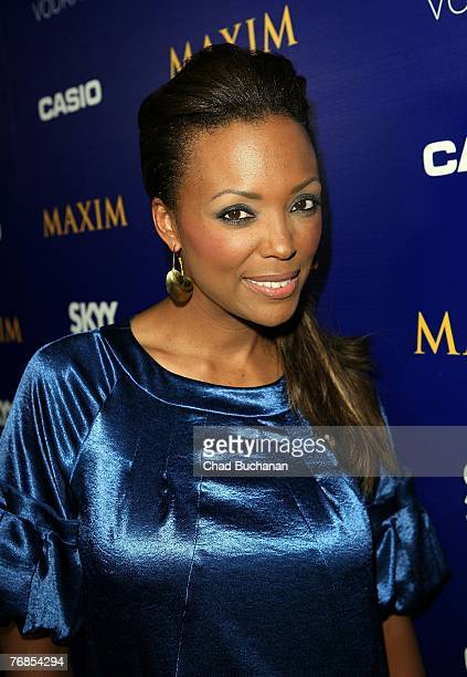 Actress Aisha Tyler attends The Maxim Style Awards at the Avalon on September 18 2007 in Los Angeles California