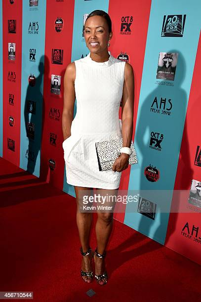 Actress Aisha Tyler attends the premiere screening of FX's 'American Horror Story Freak Show' at TCL Chinese Theatre on October 5 2014 in Hollywood...