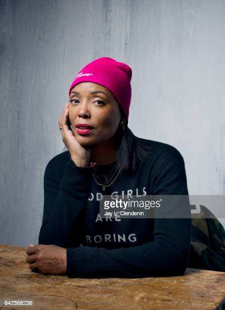 Actress Aisha Tyler is photographed at the 2017 Sundance Film Festival for Los Angeles Times on January 21 2017 in Park City Utah PUBLISHED IMAGE...