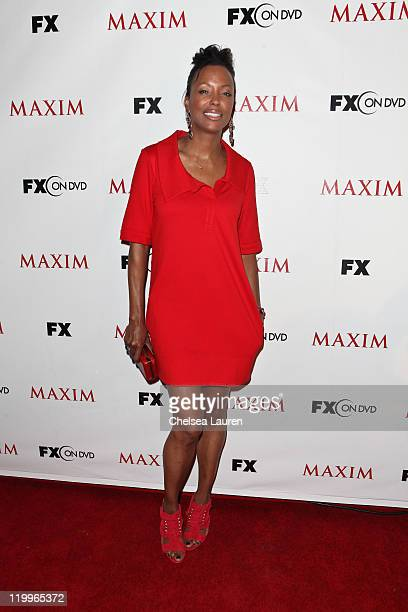 Actress Aisha Tyler of 'Archer' attends Maxim's celebration of FX and Twentieth Century Fox Home Entertainment at ComicCon at Hotel Solamar on July...