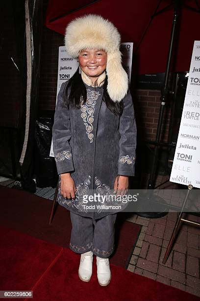 Actress Aisholpan Nurgaiv attends the Sony Pictures Classics TIFF Celebration Dinner during the 2016 Toronto International Film Festival at Creme...