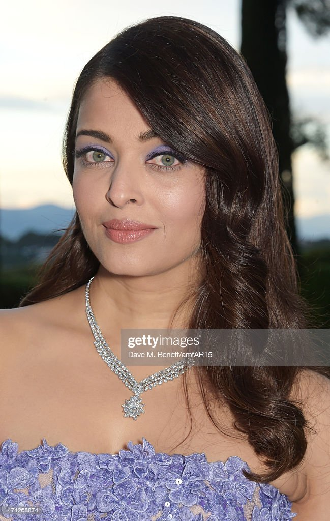 Actress Aishwarya Rai arrives at amfAR's 22nd Cinema Against AIDS Gala Presented By Bold Films And Harry Winston at Hotel du CapEdenRoc on May 21.